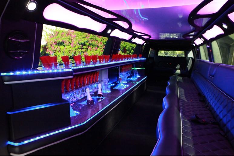 14 Passenger Stretch SUV Limousine